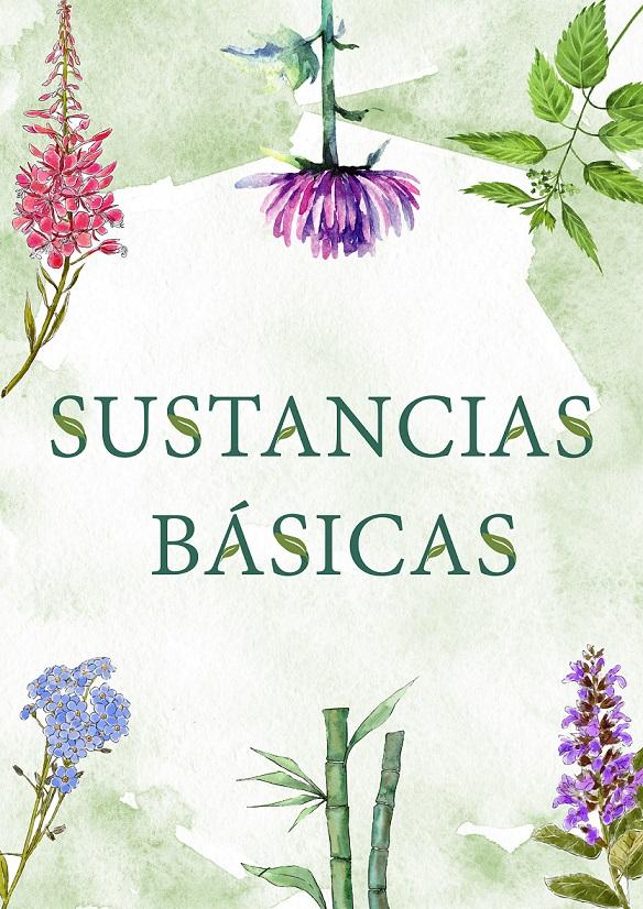 sustancias básicas